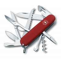 Охотничий нож Victorinox Huntsman 3.3713 красный матовый нейлон