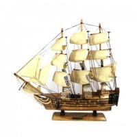 Модель корабля из дерева 50см-520