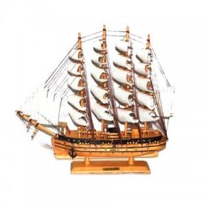 Модель корабля из дерева 50см-242