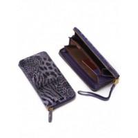 Стильое портмоне из натуральной кожи Podium B-51641-violet