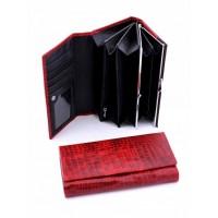 Экстравагантное кожанное портмоне Podium 7001-80950
