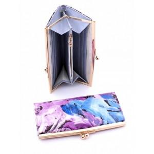 Чудесное женское портмоне из натуральной кожи Podium 2004-80948