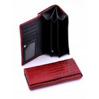 Необычное портмоне из натуральной кожи Podium 7005-80950
