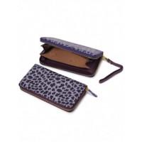 Очень красивое портмоне из натуральной кожи Podium B-51631-violet