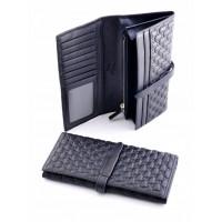Очень красивый кошелек из натуральной кожи Podium 2308L Black