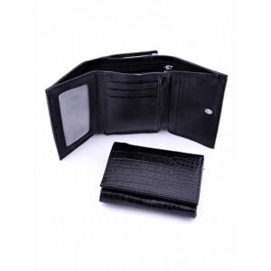 Прикольный кожаный кошелек Podium 5013-80951 женский
