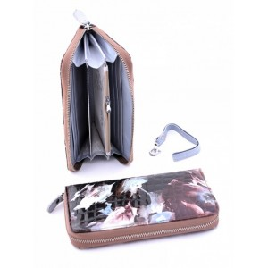 Удивительный кожаный кошелек женский Podium 00140-80953