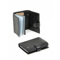 Стильный мужской кошелек кожаный Bretton FOCUS M24 Black