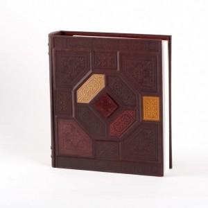 Универсальный большой кожаный фотоальбом №020-07-11-11