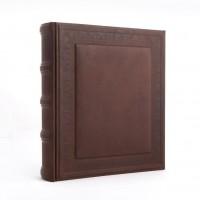 Большой классический кожаный фотоальбом №020-07-13-13