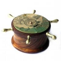 Морской календарь в форме штурвала NI448