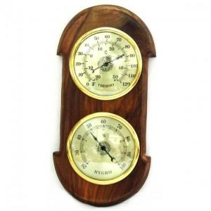 Настенные часы и гигрометр NI3714