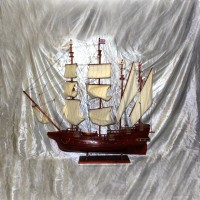 Модель английского парусника 130 см.