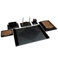 Дорогой офисный настольный набор из 6 предметов