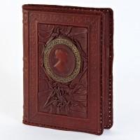 Кожаный блокнот (ежедневник) 008-10-06-14