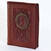 Кожаный блокнот (ежедневник) 008-10-07-14