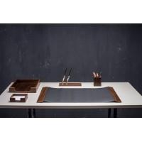 Подарочный настольный набор для кабинета 5 пр., орех, 5105FDX