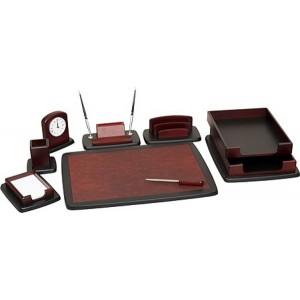 Письменный набор для руководителя 8 пр., красное дерево, 8263XDU