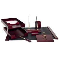 Письменный набор для руководителя 8 пр., красное дерево, 8259XDU