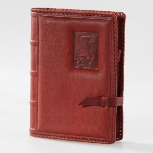 Блокнот (ежедневник), обложка из натуральной кожи