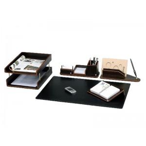 Письменный набор для руководителя 8 пр., орех, 8228FDW