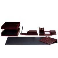 Письменный набор для руководителя 8 пр., красное дерево, 8228FDM