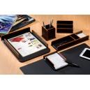 Настольный набор для офиса 6 предметов Венге