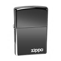 Бензиновая зажигалка Zippo 150ZL CLASSIC BLACK ICE with zippo