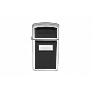 Бензиновая зажигалка Zippo 1655 CLASSIC ultralite black emblem