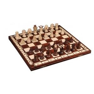 Шахматы 2027 Royal-48, коричневые