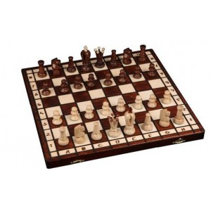 Шахматы 2022 Royal-36, коричневые