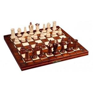 Шахматы 2016 Mini Royal, коричневые