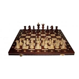 Шахматы 2000 Ambassador, коричневые