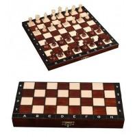 Шахматы 2066 Турнирные N4 + Шашки + Нарды, коричневые