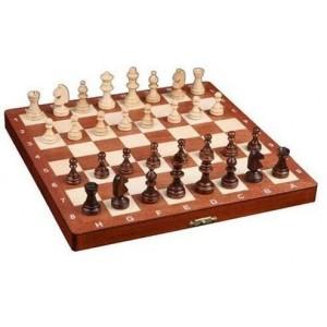 Шахматы 2038 магнитные Intarsie коричневые
