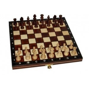 Шахматы 2033 магнитные большие коричневые