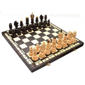 Деревянные шахматы 3131 Roman, коричневые