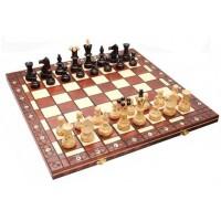 Деревянные шахматы 3128 Ambassador, черные
