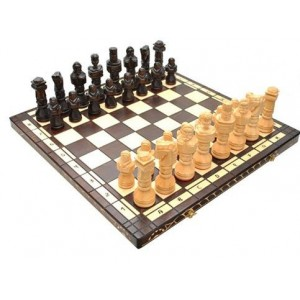 Деревянные шахматы 3117 Gladiator, черные