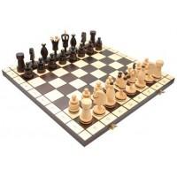 Деревянные шахматы 3107 Large Kings, коричневые