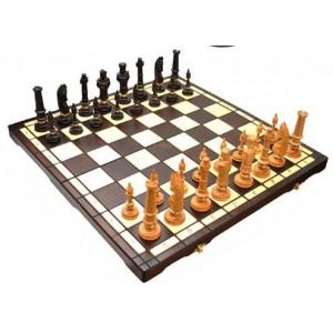Деревянные шахматы 3104 Royal, коричневые