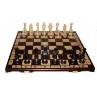 Деревянные шахматы 2058 Royal Lux, коричневые