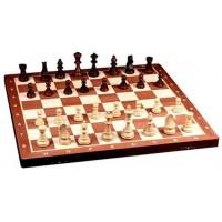 Деревянные шахматы 2055 турнирные №5, махагон