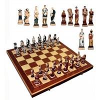 Деревянные шахматы 3156 Spartacus, коричневые