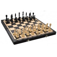 Деревянные шахматы 3150 Club, коричневые