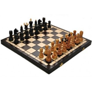 Деревянные шахматы 3133 Pearl Large, коричневые