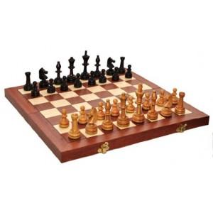 Деревянные шахматы 312205 Olimpic Intarsia, коричневые