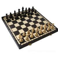 Деревянные шахматы 3122 Olimpic, коричневые