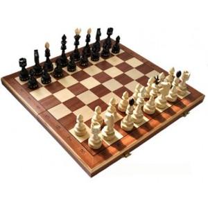 Деревянные шахматы 311905 Indian Intarsia, коричневые