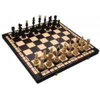 Деревянные шахматы 311901 Indian Large, коричневые